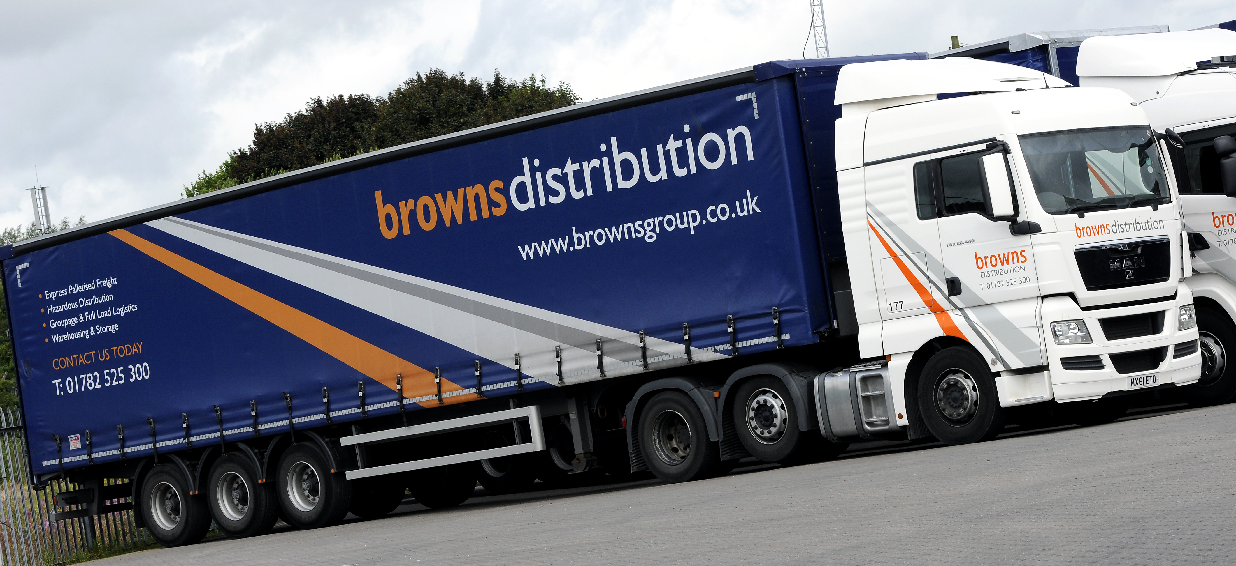 Browns Distribution Truck